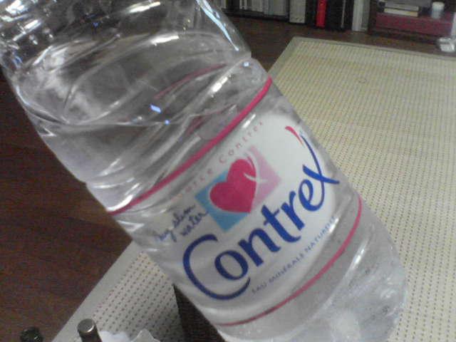 硬水飲んでます。飲んでますぅ?