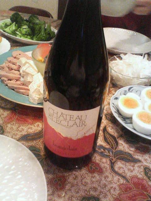 昨日のワイン