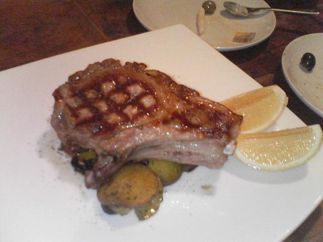 この豚肉の美味さは格別でした!