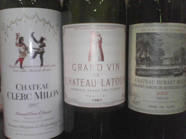 最近飲んだワイン2