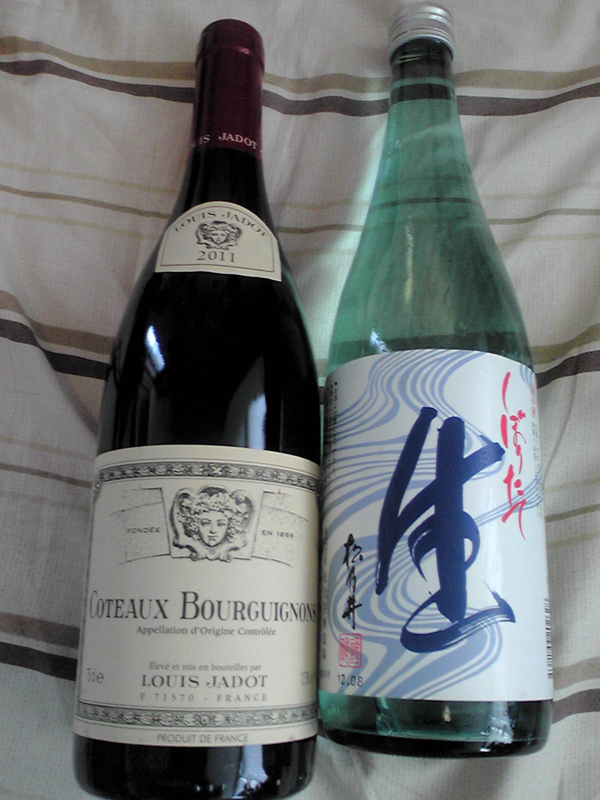 ワイン&日本酒
